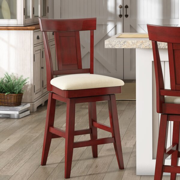 Colasanto 24 Swivel Bar Stool by August Grove