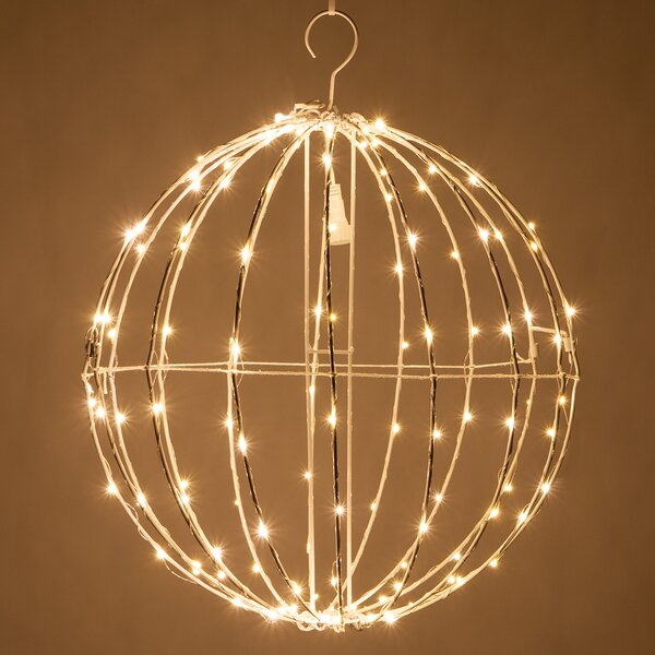 LED Fairy 128 Light Christmas Ball Net Lighting by The Holiday Aisle