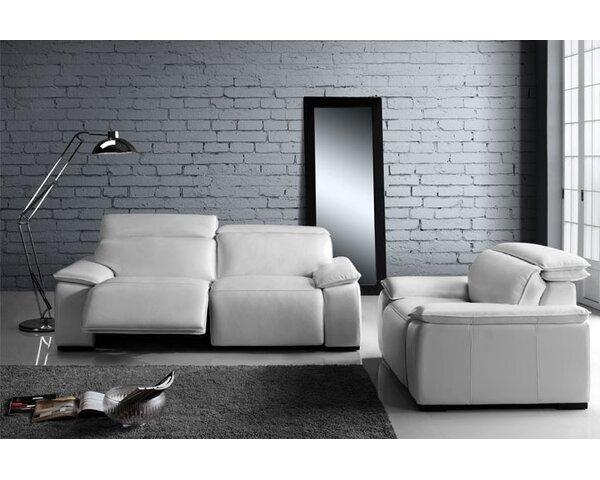 Atilla Reclining Configurable Living Room Set by Orren Ellis