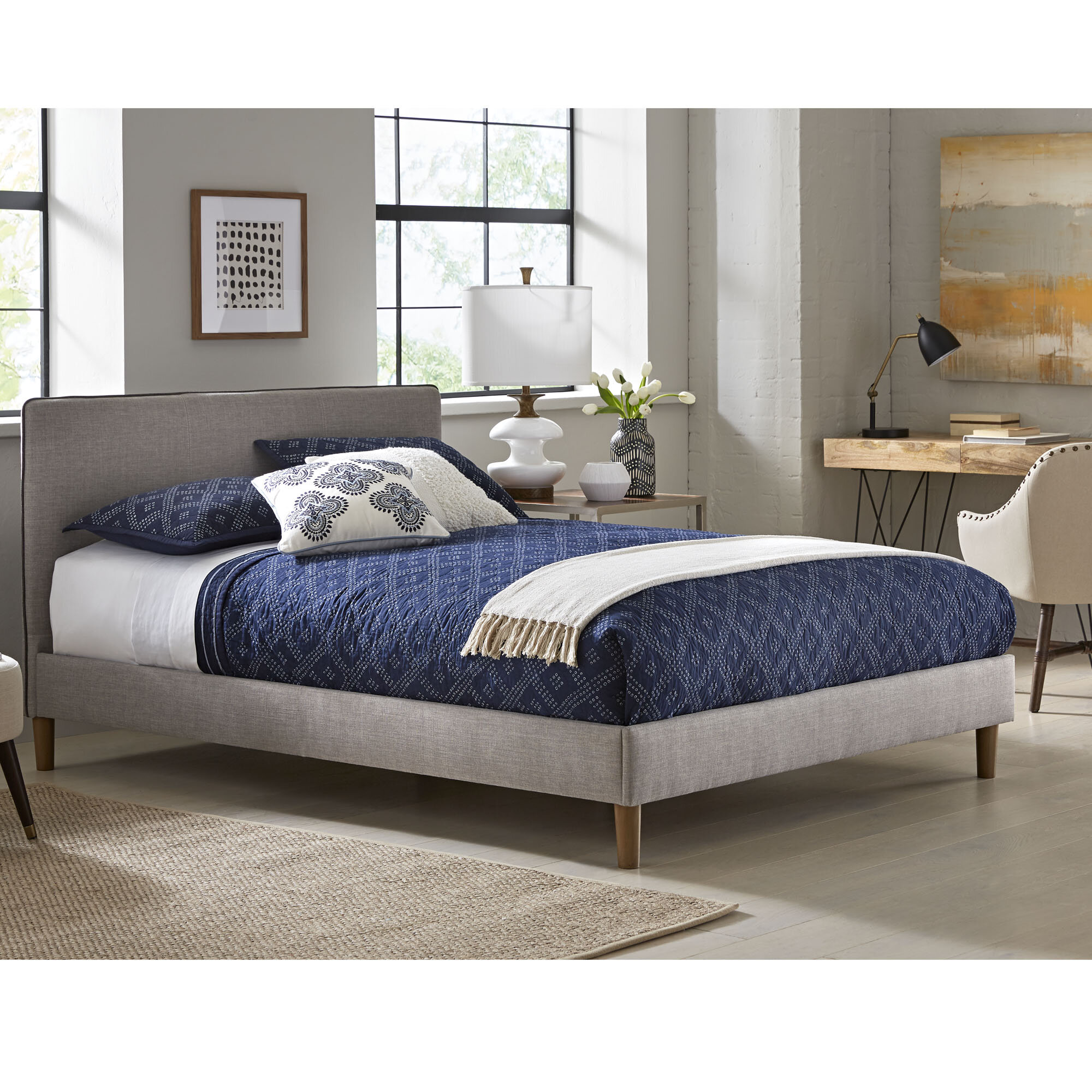 Westlake Upholstered Platform Bed