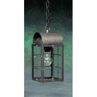Comparison Xzavier 1-Light Outdoor Hanging Lantern By Breakwater Bay