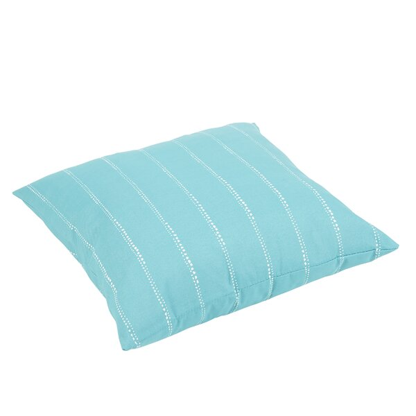 Balentine Dot Stripes Indoor/Outdoor Floor Pillow by Wade Logan