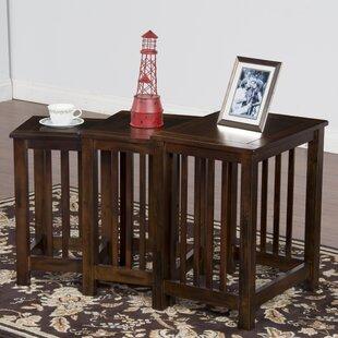 Buy luxury Fresno 3 Piece Nesting Tables ByLoon Peak