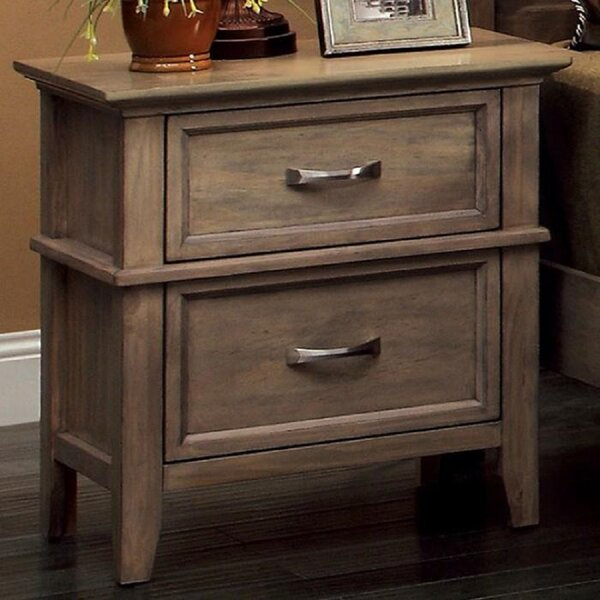 Onley 2 Drawer Nightstand by Loon Peak