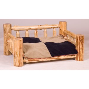 Cedar Lodge Dog Bed