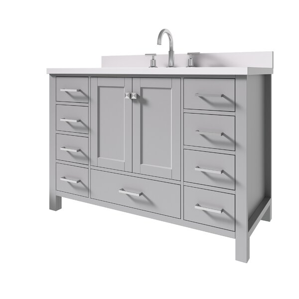 Joseline 49 Single Bathroom Vanity Set