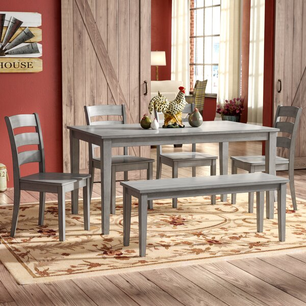 Alverson 6 Piece Dining Set by August Grove