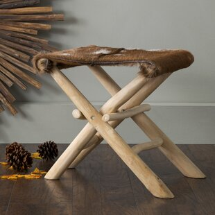 Look for Eagle Folding Accent Stool By Loon Peak