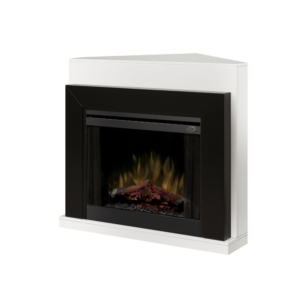 Convertible Contemporary Electric Fireplace by Dim