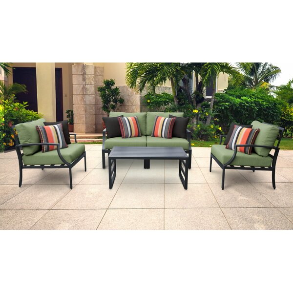 Benner 5 Piece Sofa Seating Group with Cushions by Ivy Bronx