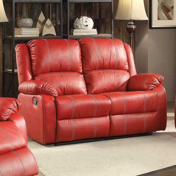 Get Name Brand Maddock Motion Reclining Loveseat by Latitude Run by Latitude Run
