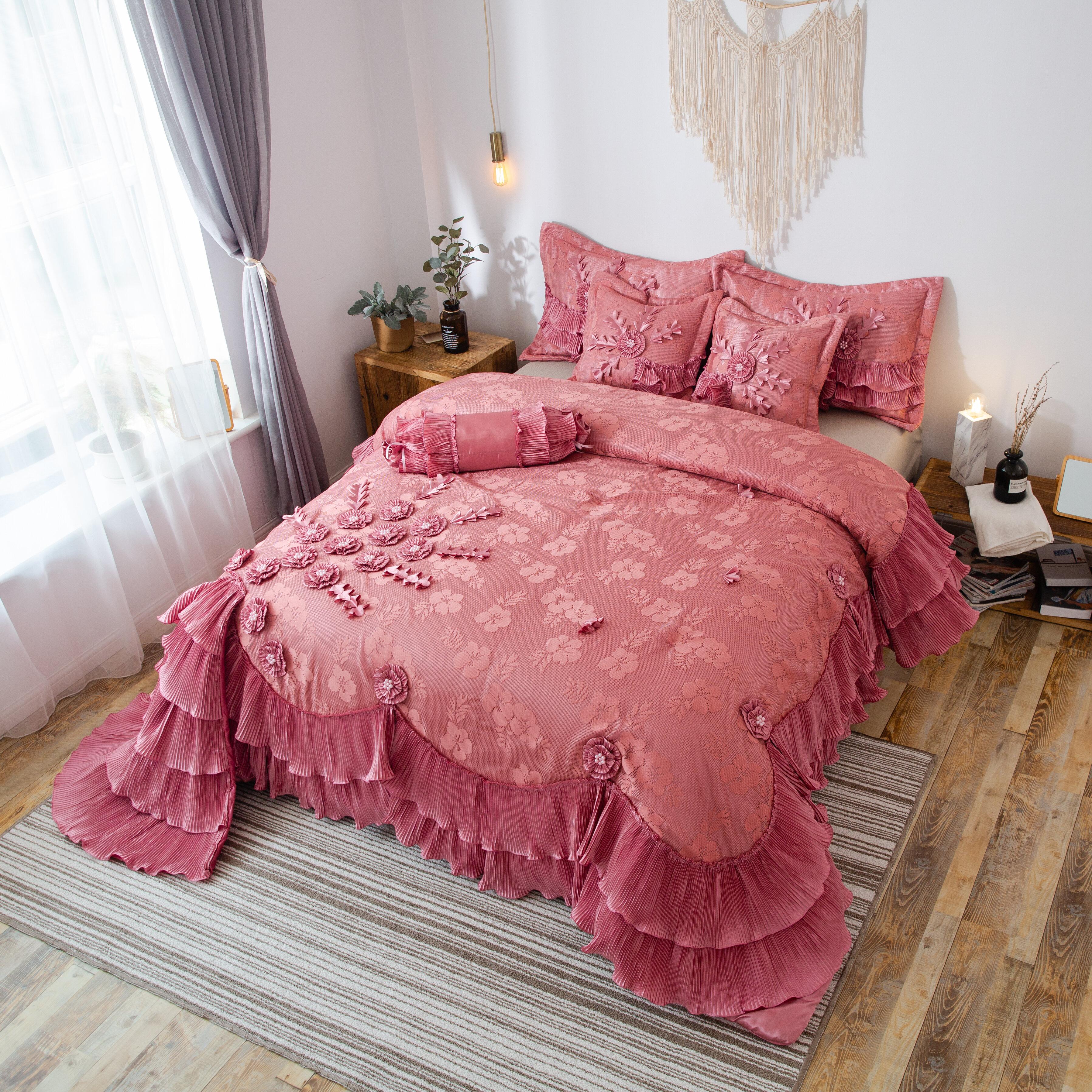 Astoria Grand Tashia Luxury Comforter Set Reviews Wayfair
