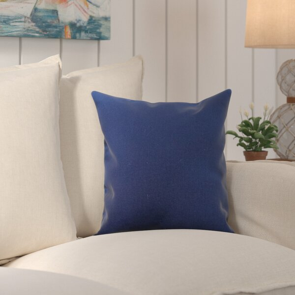 Edisto Canvas Sunbrella Throw Pillow by Breakwater Bay