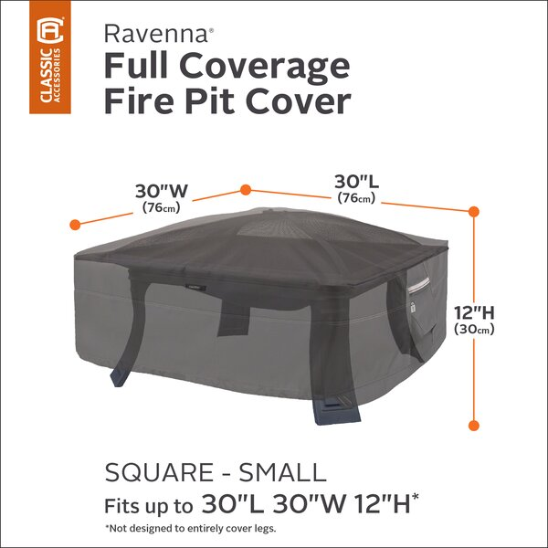 Water Resistant Fire Pit Cover by Freeport Park