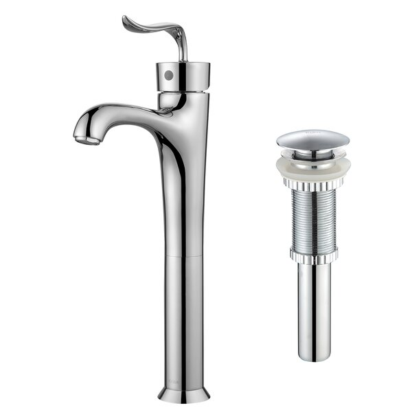 Coda™ Single Hole Bathroom Faucet with Pop-Up Drain by Kraus