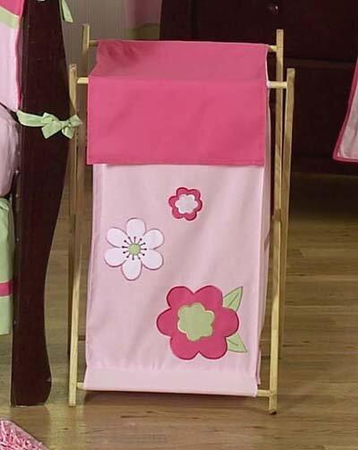Flower Laundry Hamper by Sweet Jojo Designs