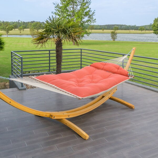 Julissa Tufted Sunbrella Tree Hammock by Freeport Park