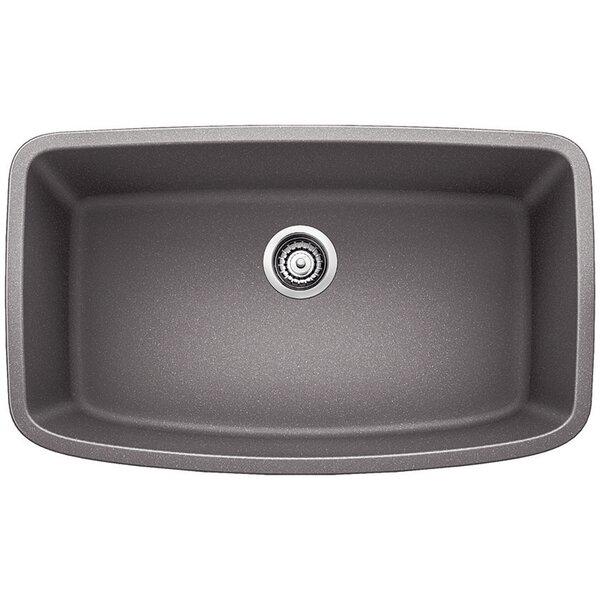 Valea 32 L x 19 W Super Single Undermount Kitchen Sink by Blanco