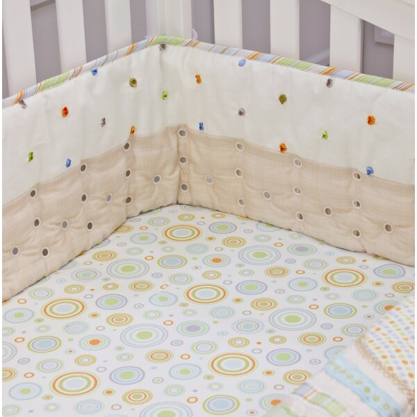 Imagination Twill Airflow Crib Safety Bumpers by N
