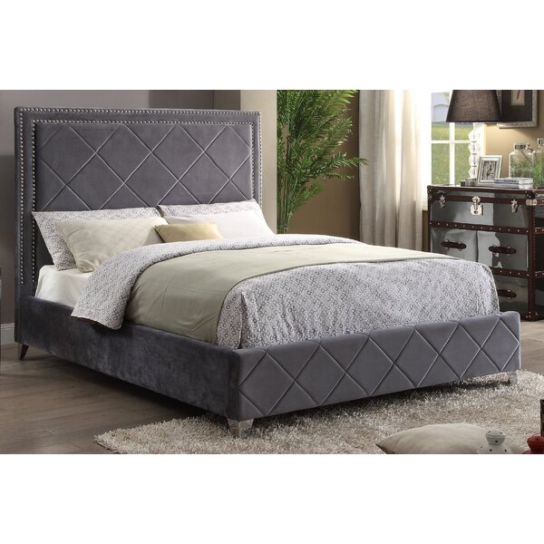 Jefferson Upholstered Platform Bed by Everly Quinn