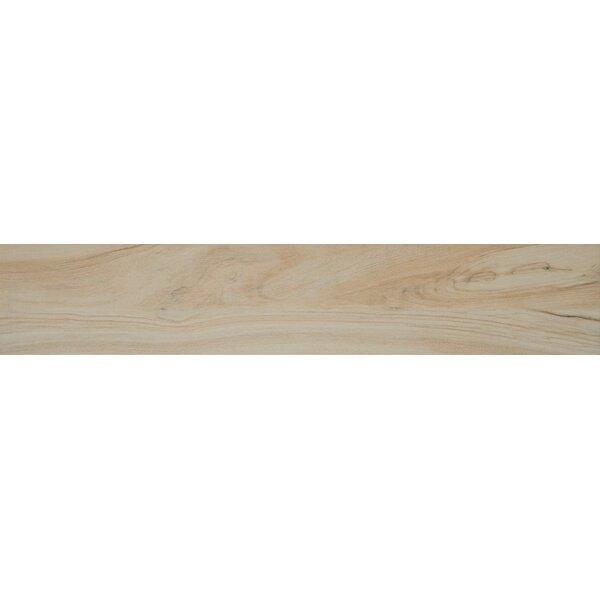 Aspenwood 9 x 48 Porcelain Wood Tile in Arctic by MSI