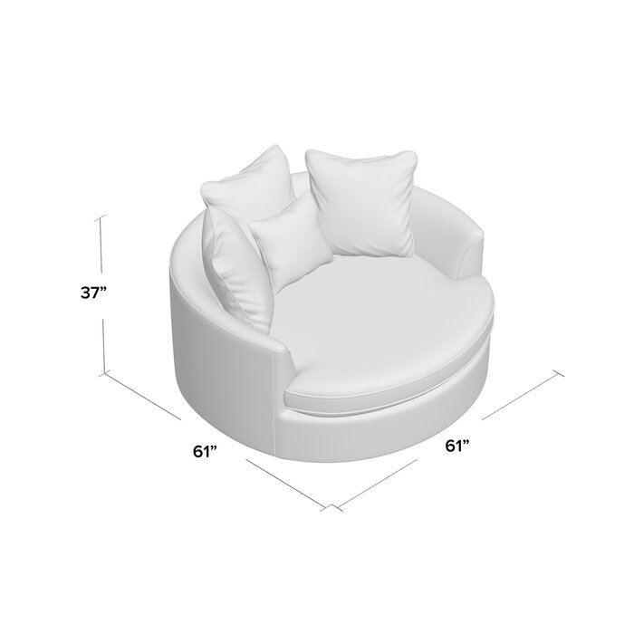 Marta Cuddler Chair And A Half