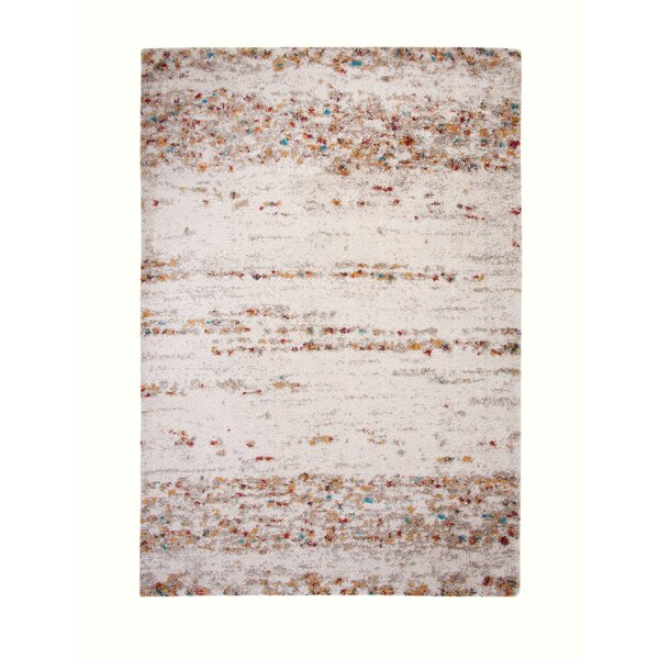 Bharat Ivory Area Rug by 17 Stories
