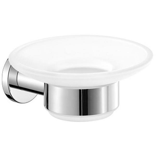 Sonnenberg Wall Mounted Frosted Glass Soap Dish by Orren Ellis