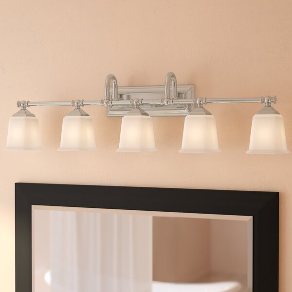 Bima 5-Light Vanity Light by Three Posts