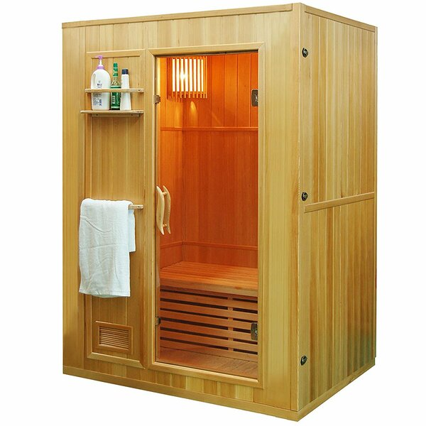 GLDD1013 3 Person FAR Infrared Sauna by ALEKO