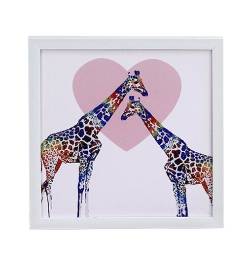 Framed Print on Canvas in White/Pink by Zoomie Kids