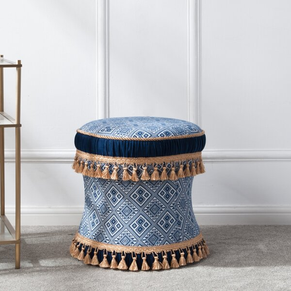 DeWitt Decorative Vanity Stool by World Menagerie