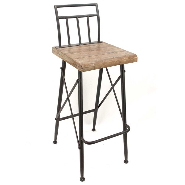 Ouellette Bar Stool by Williston Forge Williston Forge