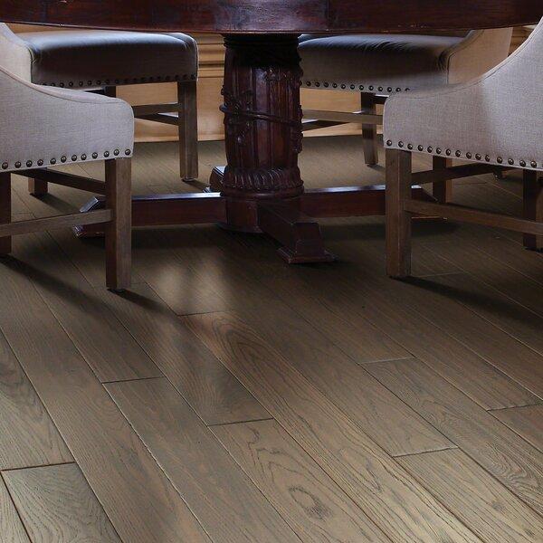Chico 4 Solid Oak Hardwood Flooring in Low Glossy Medium by Shaw Floors