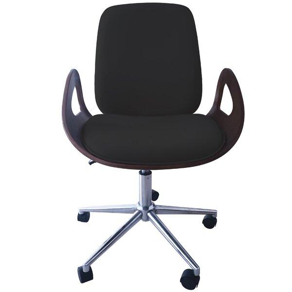Caroline Mid-Back Desk Chair by Porthos Home