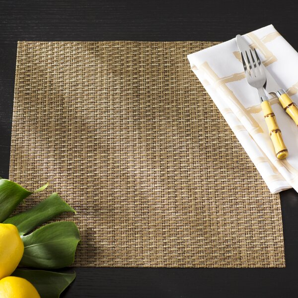 Finlay Deepwater Rattan Placemat (Set of 5) by Beachcrest Home
