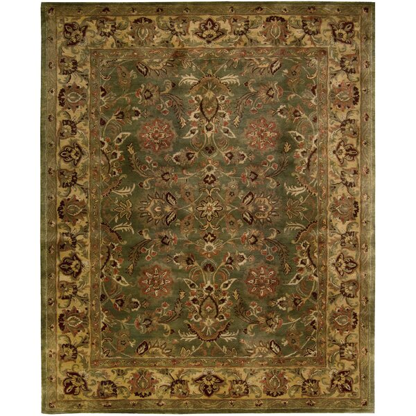 Delaware Hand-Woven Wool Area Rug by Darby Home Co