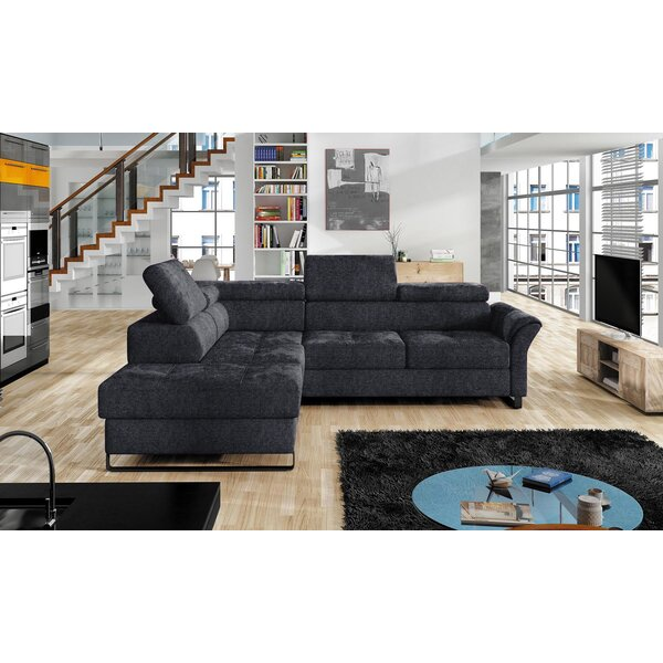 Review Jeremiah Left Hand Facing Sleeper Sectional