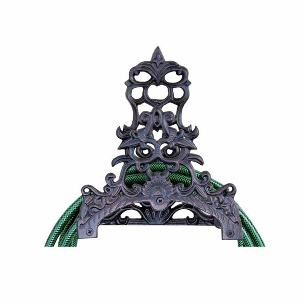 Water In The Garden Iron Wall Mounted Hose Holder by EsschertDesign