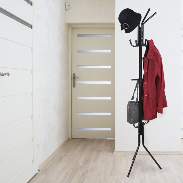 East Broadway Hat Tree Coat Rack by Rebrilliant