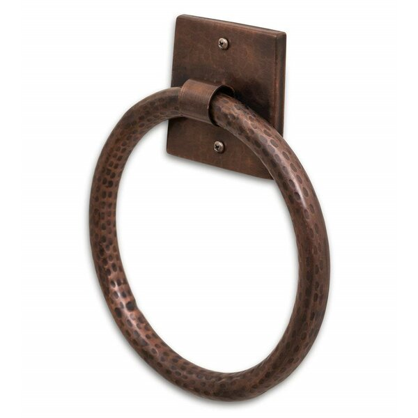 Hammered Towel Ring by Monarch Abode