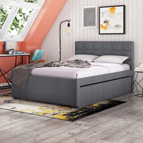 Brodeur Upholstered Platform Bed by Trule Teen