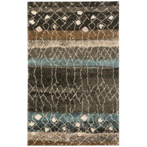 Allendale Brown Area Rug by Bungalow Rose
