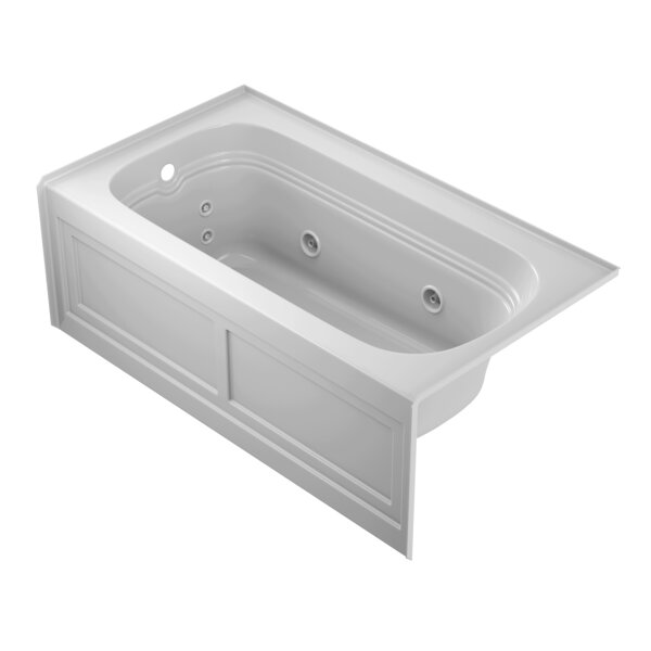 Luxura 60 x 32 Alcove Whirlpool Bathtub by Jacuzzi®