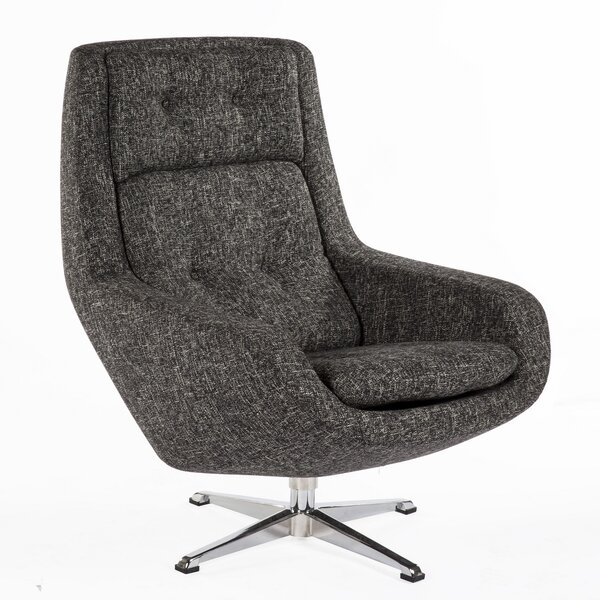 Limburg Swivel Lounge Chair By DCOR Design