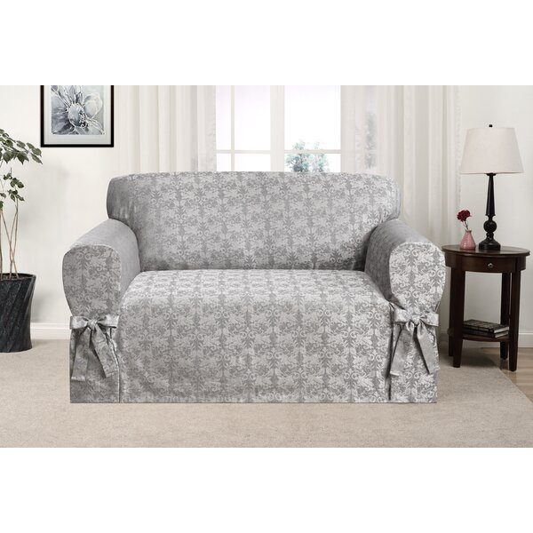 Box Cushion Loveseat Slipcover by Astoria Grand