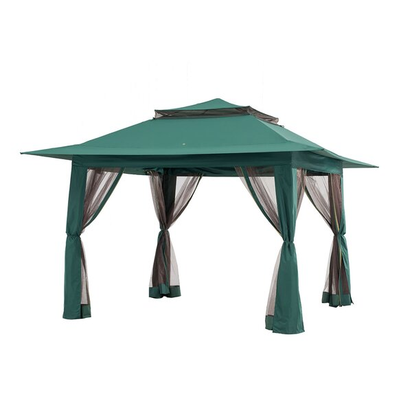 13 Ft. x 13 Ft. Metal Pop-Up Canopy by Sunjoy