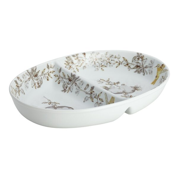 Fruitful Nectar Divided Serving Dish by BonJour