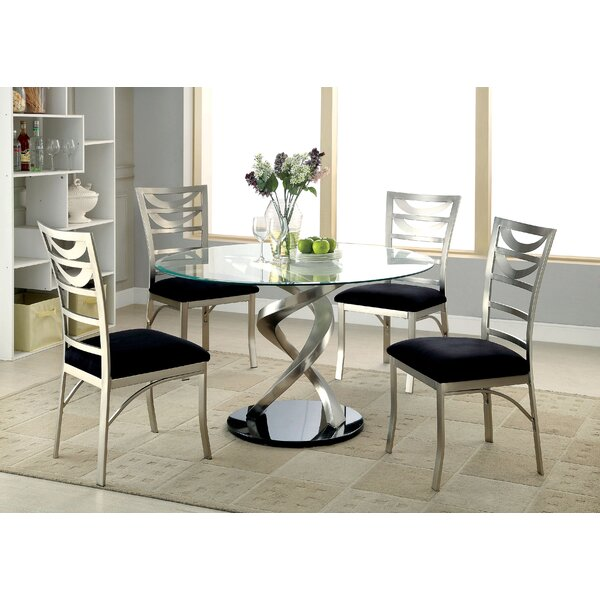 Cannon III 5 Piece Dining Set by Hokku Designs