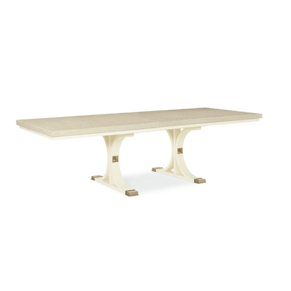 Toe the Line Dining Table by Caracole Classic Caracole Classic